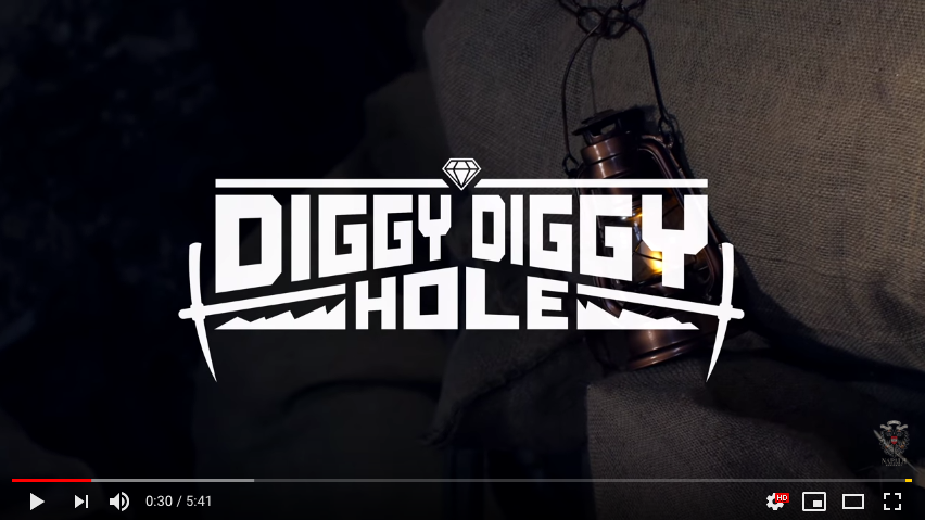 Diggy Diggy Hole (Official Video)