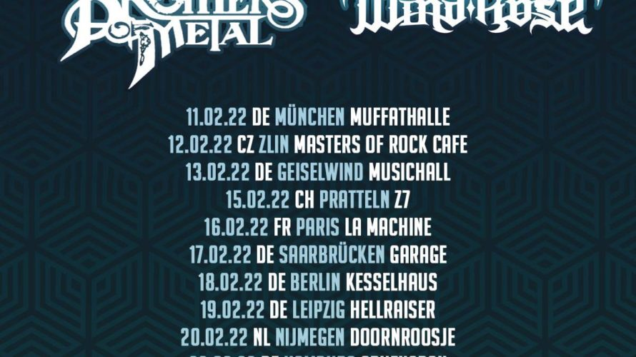 Orden Ogan+Brothers of Metal+Wind Rose tour 2022